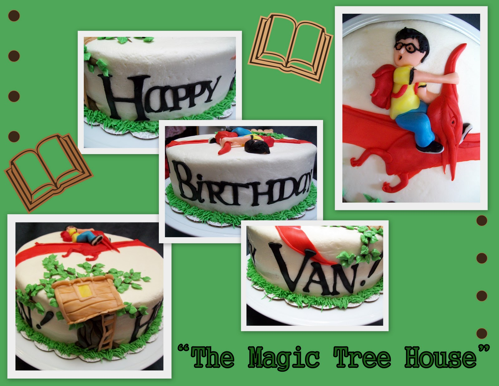 Katies Cakes Magic Tree House Birthday Cake