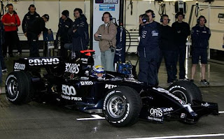 Williams Toyota FW29b Interim Livery Car