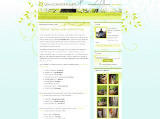Najnoviji, prolećni dizajn bloga