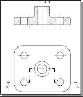 Sezioni uni sezione di un oggetto con piani paralleli for Piani abitativi per un piano