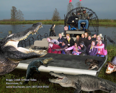 Airboat Tours Kissemee Fl