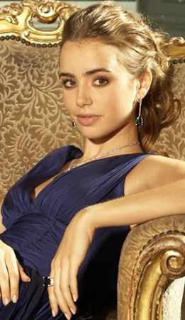 Amelie Danielle Broussard # Lily-collins-pic