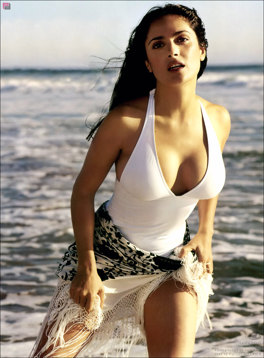 Thanks for salma hayek hot young