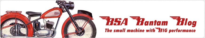 Bsa Bantam Blog!
