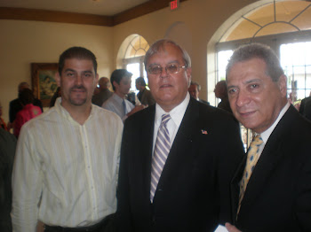 J.C. León, James Cason y Agustín Rangugni
