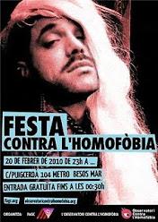 Festa FAGC contra l'homofobia