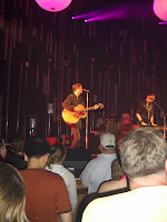 Keane onstage at the Tower Theater in Philadelphia