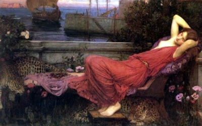 """ARIADNE"", John William Waterhouse, Mónica López Bordón, poesía, editorial Playa de Ákaba"