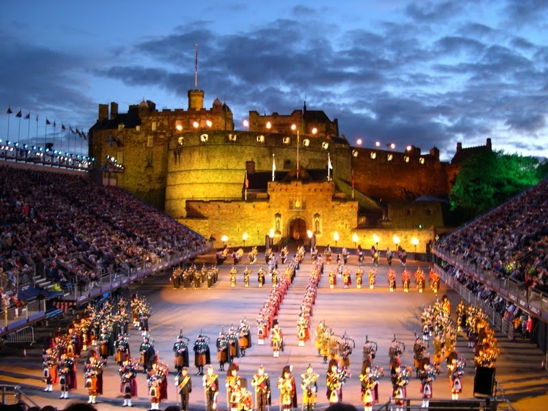 The original meaning of military tattoo is a military drum performance,