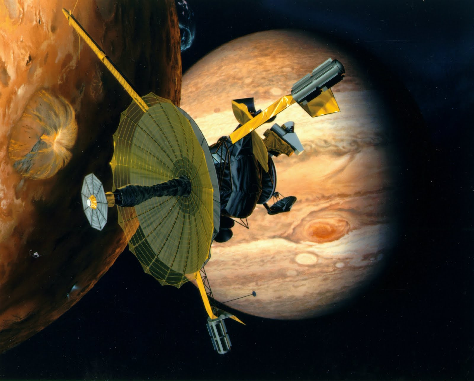 what spacecraft did galileo discover - photo #42
