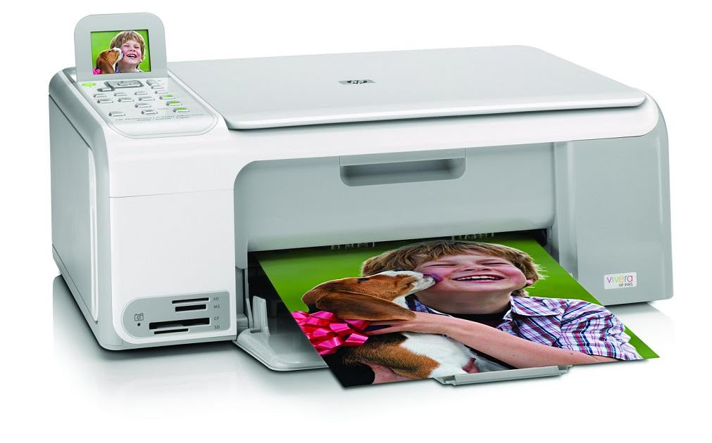 l 39 imprimante en question imprimante multifonction hp photosmart c4180. Black Bedroom Furniture Sets. Home Design Ideas