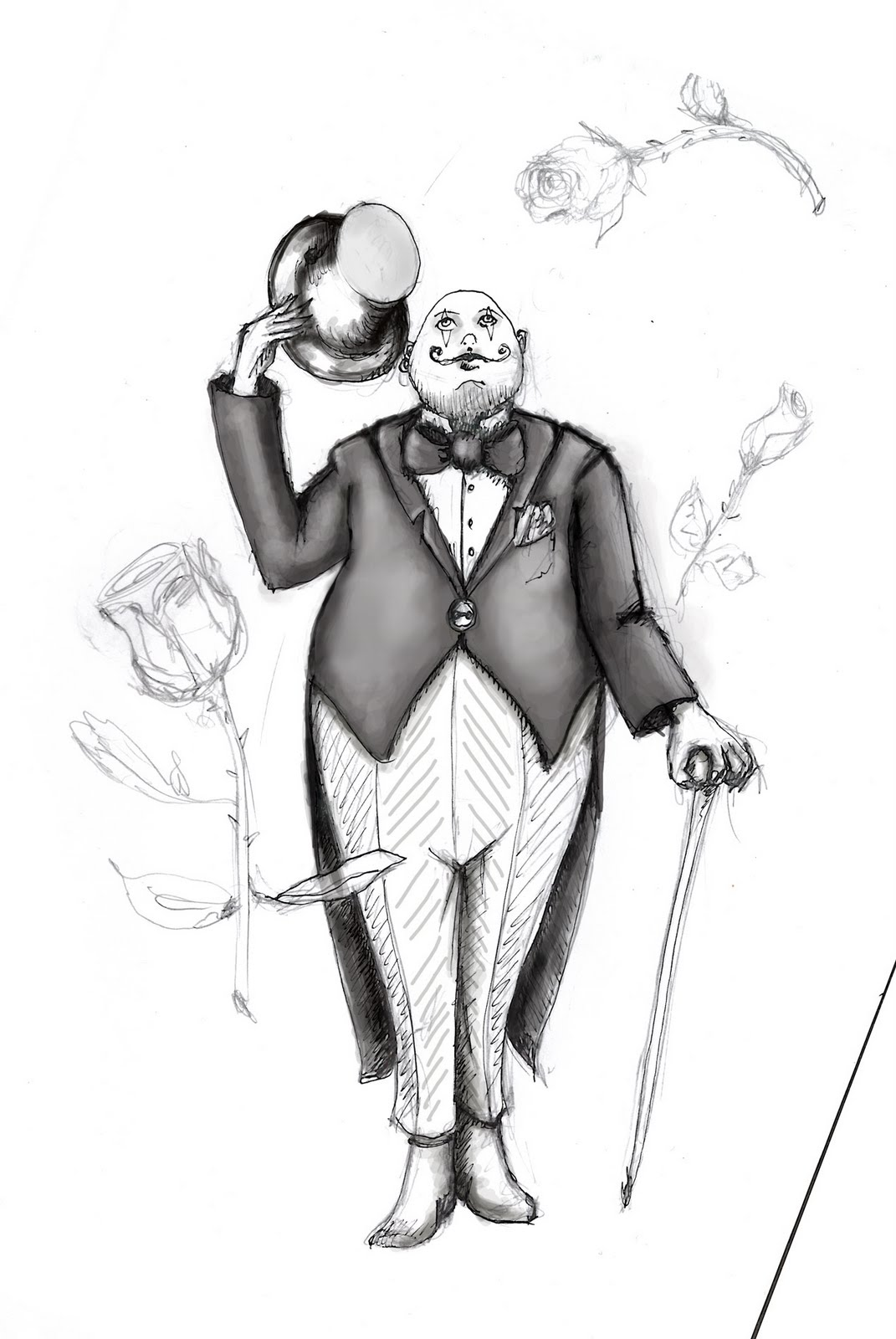 illustration d'un circus manager part bO. rivage