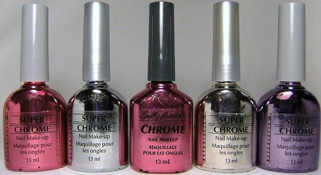 Deez Nailz: Sally Hansen Chrome polish and Naturistc\'s Super Chrome ...