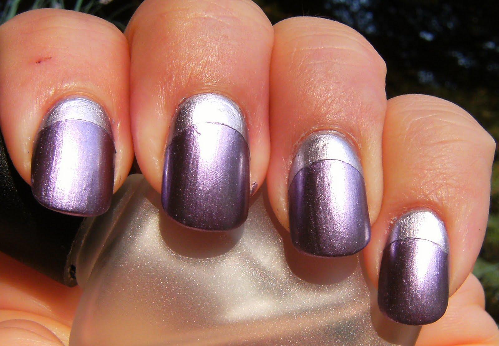 Deez Nailz: ♥ Purple Chrome Ruffian ♥
