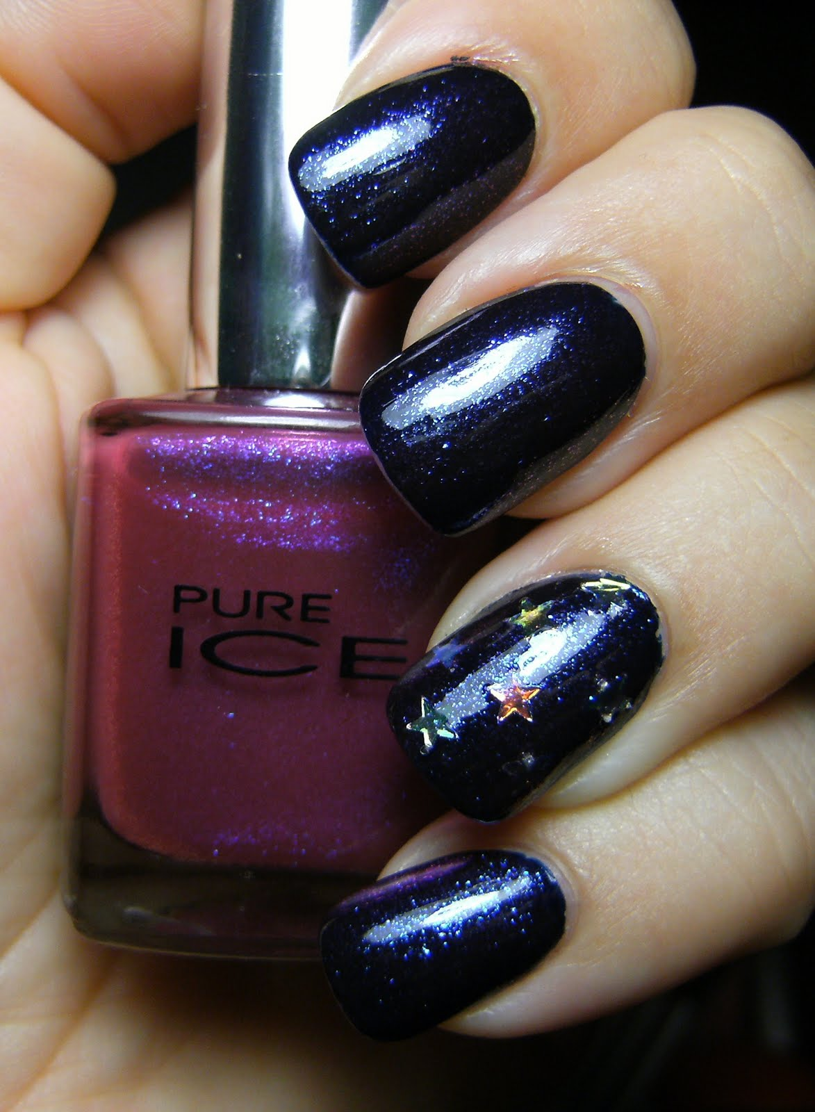 Deez Nailz: ♥ Nail art stars with Pure Ice Rio and Nina Out of the ...
