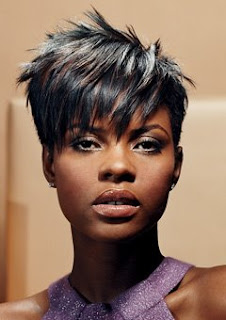 Short crop hairstyles for black women