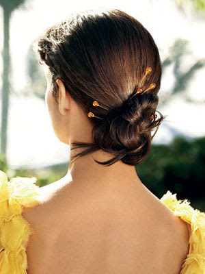 4 Easy Summer Hairstyles from Glamour