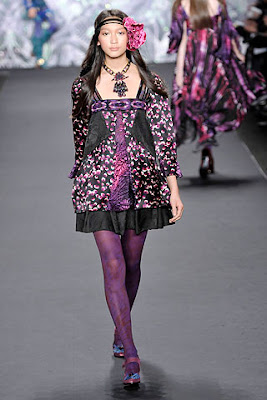 5. Hippie Look, Anna Sui, Fall 2008