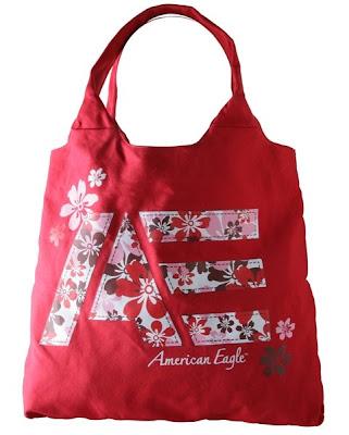 aeo printed tote. American Eagle Tote Bags