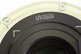 Manufacturing code on the EF15mm f/2.8 Fisheye lens