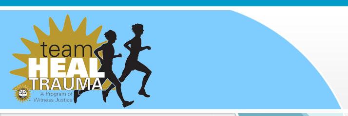 Witness Justice Marathon Team Heal Trauma