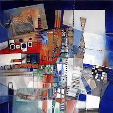 """Des nouvelles du """"Monde 27.11.07"""" - 90 x 90 cm - 2007"""
