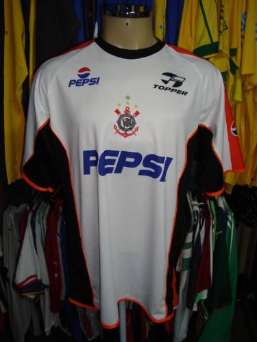 9a08d14514 Brechó do Futebol. Bar   Camisetas.  Corinthians 2002 Camisa De ...