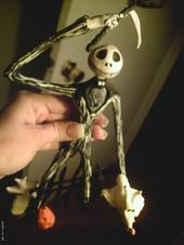 Jack Skellington Sculpey 15 inches  $70.00  SOLD