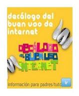 DECÁLOGO DEL BUEN USO DE INTERNET