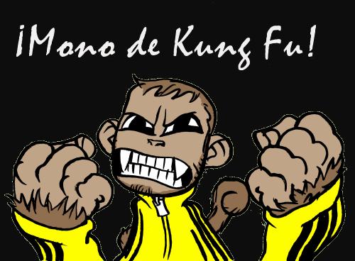 Mono de Kung Fu