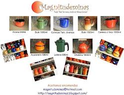 Catálogo de utensílios em ágata