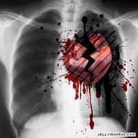 hati yang hancur