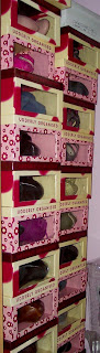 Superdrug 'udderly organised' shoe boxes