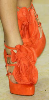 Christian Louboutin for Philip Lim S/S '09 ruffle platforms
