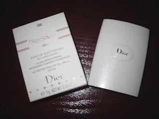diorsnow ultra brightening/whitening powder foundation