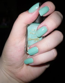 barry m nail paint mint green