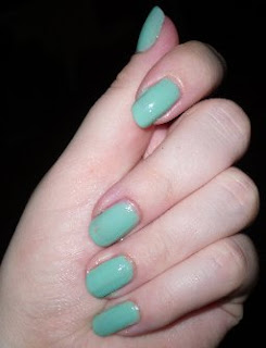 barry m mint green 304