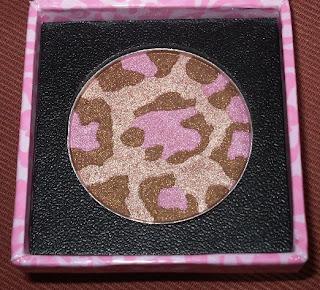 too faced pink leopard bronzer
