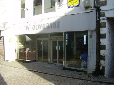 Woolworths - Fore Street - St Ives Cornwall