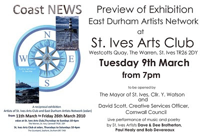 St Ives Arts Club Exhibition - Coast News