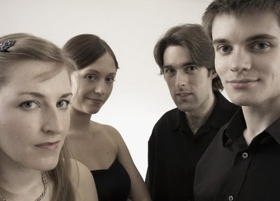 Sacconi Quartet - Music In May. Photo - Katie Vandyck.