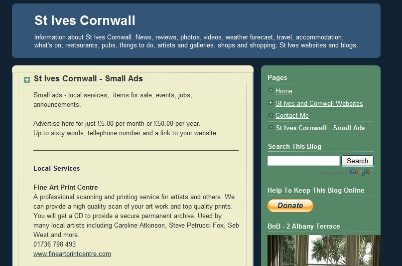 st ives cornwall blog june 2010. Black Bedroom Furniture Sets. Home Design Ideas