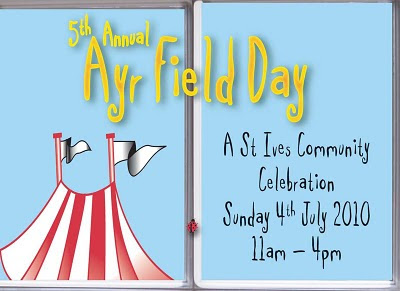 Ayr Field Day - St Ives - Sunday 4th July 2010