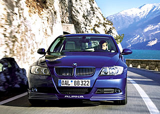 2007 Alpina B3 Bi-Turbo based on BMW 335i