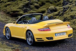 2008 Porsche 911 997 Turbo Cabriolet 4