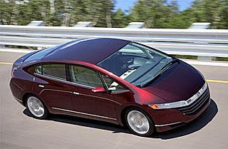 Honda displayed its FCX concept 2