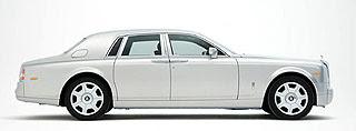 Rolls Royce Phantom Silver 2
