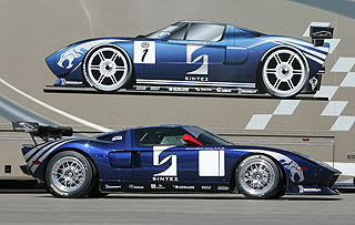 2007 Matech Racing Ford GT