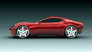 2007 Ferrari Dino Concept Design 3