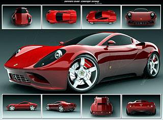 2007 Ferrari Dino Concept Design